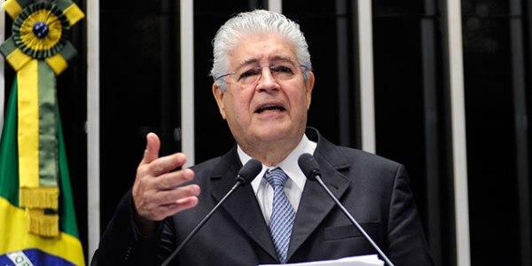 Roberto Requião, senador que elaborou o projeto. Foto: Geraldo Magela/Agência Senado