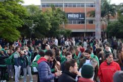Vestibular movimentou o Campus Canoas no último domingo. Imagem: Luiz Munhoz