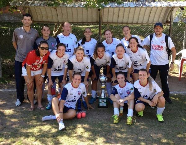 Time de futebol feminino disputa Campeonato Brasileiro Imagem: Alex Bauer