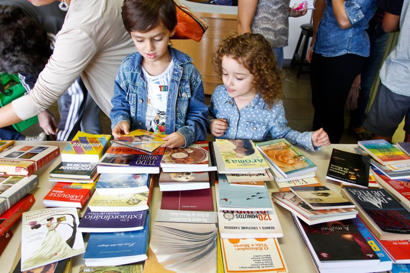 Porto Alegre, RS - 27/03/2016 Feira de troca de livros Local: Centro Municipal de Cultura Foto: Joel Vargas/PMPA