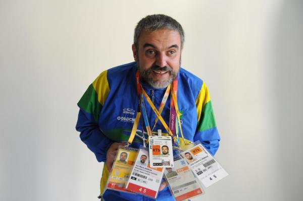 Jornalista José Alberto Andrade realiza cobertura olímpica desde 1996 Imagem: Luiz Armando Vaz