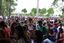 Estudantes lotaram os prédios do campus Canoas Imagem: Foto: Luiz Munhoz/Ulbra